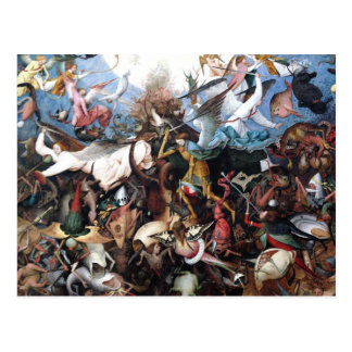 The Fall of the Rebel Angels by Pieter Bruegel Postcard