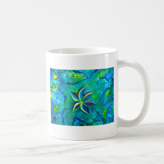 The Fallen One- Story of a flower, an abstract col Coffee Mug