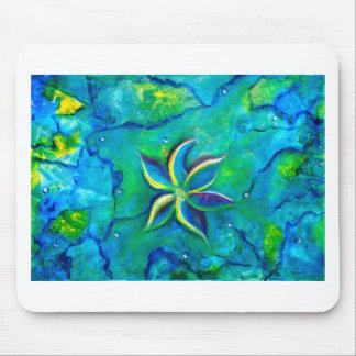 The Fallen One- Story of a flower, an abstract col Mouse Pad