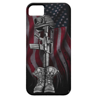 The Fallen Soldier iPhone 5 Covers
