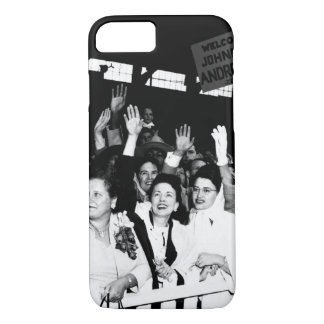 The families of the returning POW_War Image iPhone 7 Case