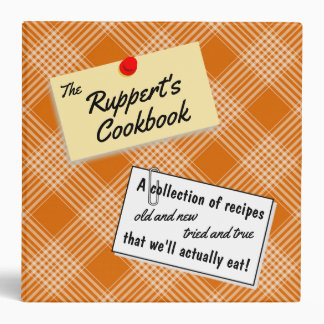 The Family Cookbook Binder