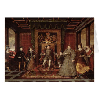 The Family of Henry VIII: Greeting Card