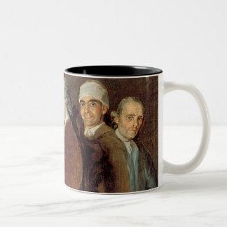 The Family of the Infante Don Luis de Borbon Two-Tone Coffee Mug