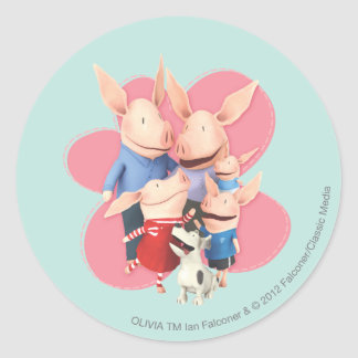 The Family Round Sticker