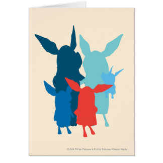 The Family - Silhouette Card