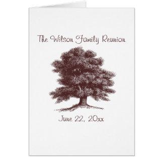 The Family Tree Card