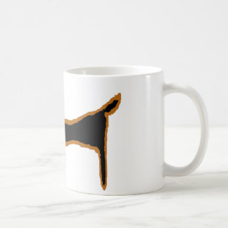 The Famous Black Dachshund Coffee Mug