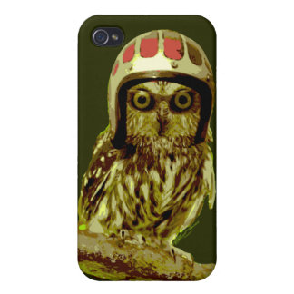 The Famous Custom Motorcycle Owl Covers For iPhone 4