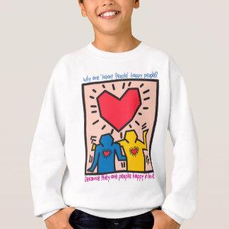 The Famous Heart People Dancing of Joy Sweatshirt