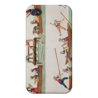 The Famous Joust between the Lancers iPhone 4 Cover