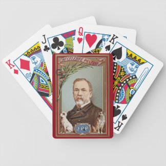The Famous Louis Pasteur Portrait Historical Bicycle Playing Cards