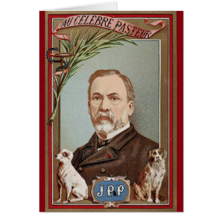 The Famous Louis Pasteur Portrait Historical Card