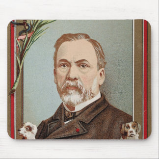 The Famous Louis Pasteur Portrait Historical Mouse Pad