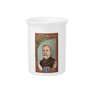 The Famous Louis Pasteur Portrait Historical Pitcher