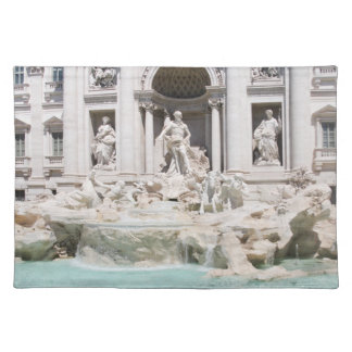 The famous Trevi fountain, Rome, Italy Placemat