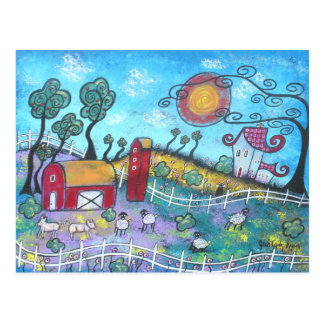 The Fanciful Farm Post Card