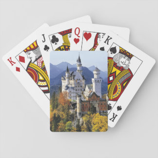The fanciful Neuschwanstein is one of three Playing Cards