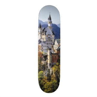 The fanciful Neuschwanstein is one of three Skateboard Decks