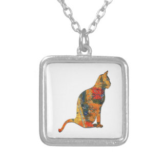 THE FANCY ONE SILVER PLATED NECKLACE