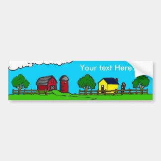 The Farm Bumper Sticker