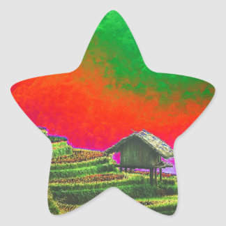 The Farm Star Sticker