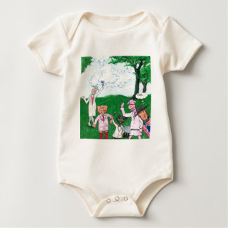 The Farmer Suspects Baby Bodysuit