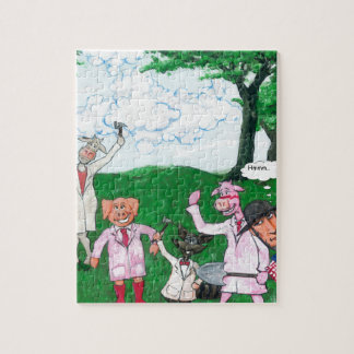 The Farmer Suspects Jigsaw Puzzle
