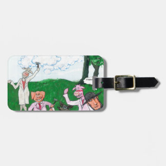 The Farmer Suspects Luggage Tag