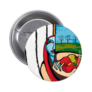 the farmer's wife 2 inch round button