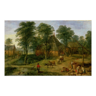 The Farmyard Poster