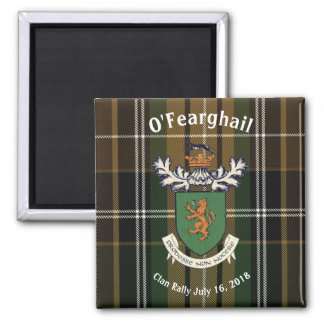 The Farrell Clan of Ireland Clan Rally Magnet