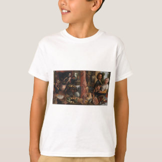 The Fat Kitchen. An Allegory by Pieter Aertsen T-Shirt