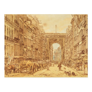 The Faubourg and the Porte Saint-Denis, 1801 Postcard