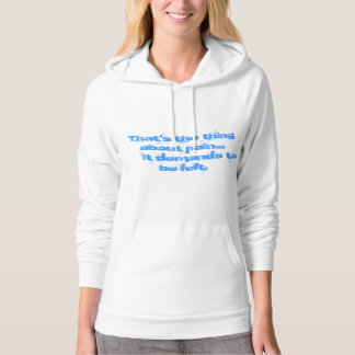 The Fault  in Our Stars Pain Quote Sweatshirt