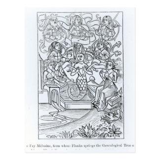 The Fay Melusine Postcard