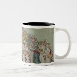 The Feast of Agriculture in 1796 at Paris Two-Tone Coffee Mug