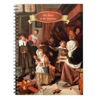 The Feast of St.Nicholas. Fine Art Gift Notebooks