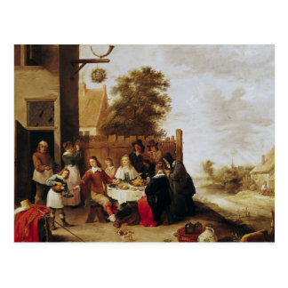 The Feast of the Prodigal Son, 1644 Postcard