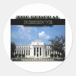 The Fed Round Sticker