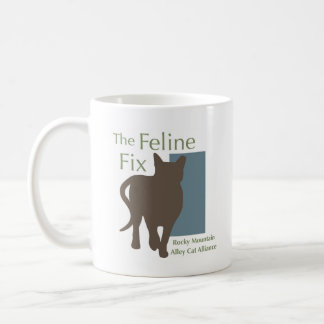 The Feline Fix Logo Mug