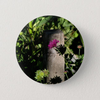 The Fence Post 2 Inch Round Button