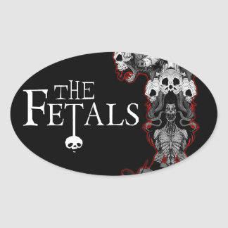 The Fetals Oval Totem Sticker