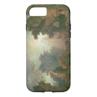 The Fete at Saint-Cloud (oil on canvas) (for detai iPhone 7 Case