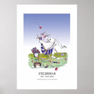 the fieldsman, tony fernandes poster