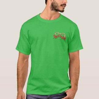 The Fiery Fart Berry Men's 2 logo T-Shirt (dark)