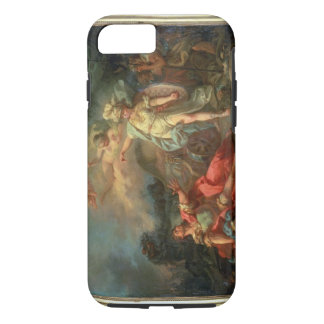 The fight between Mars and Minerva, 1771 (oil on c iPhone 7 Case