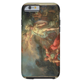 The fight between Mars and Minerva, 1771 (oil on c Tough iPhone 6 Case