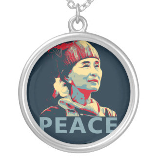 THE FIGHTER - Aung San Suu Kyi | Custom Necklace