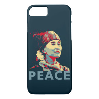 THE FIGHTER-Aung San Suu Kyi iPhone 7/ Plus Cases